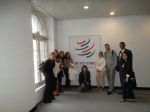 na saída da OMC