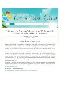 Cristina Lira 22-05-2014